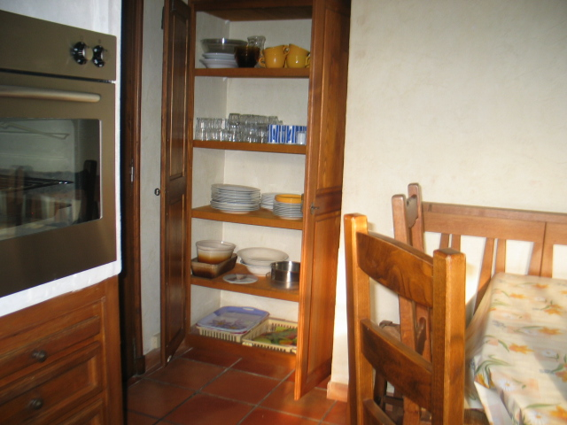 Look in the cupboards