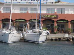 Port Santa Lucia, St Raphael (10Kms)