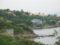 The villa near the beach